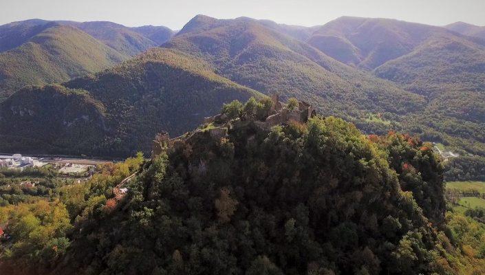 prise de vue aérienne montagne