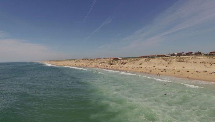 ocean plage drone