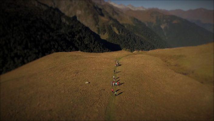 drone randonnée montagne