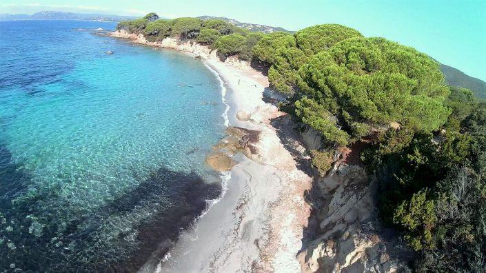 drone photo littoral